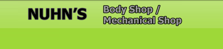 Fully Equipped Body Shop and Mechanical Shop